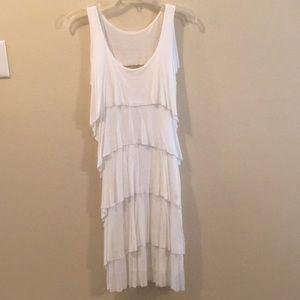 White Bailey 44 ruffle dress